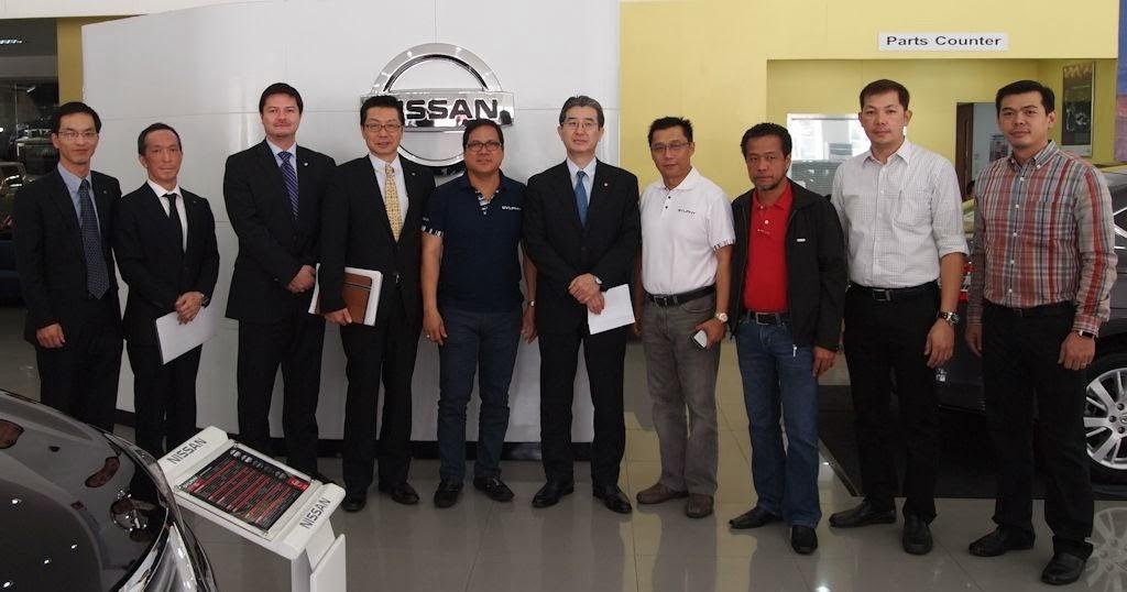 Nissan Philippines Officers Visits North Edsa Dealership