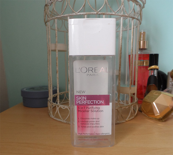 L'oreal Skin Perfection 3in1 Purifying Misceller Solution