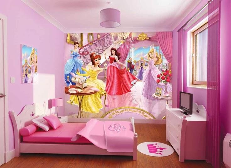 Dise o de habitaciones de princesa para ni as decorar for Disenos de cuartos de ninas