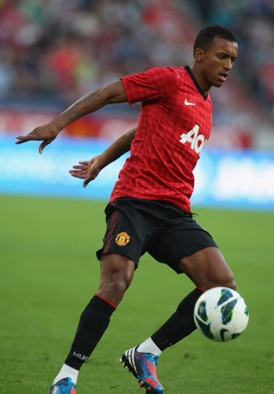 Luis Nani of Manchester United 2012