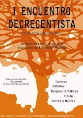 --- i encuentro nacional decrecimiento --- 23, 24, 25 sep 2011  zarzalejo (Madrid)