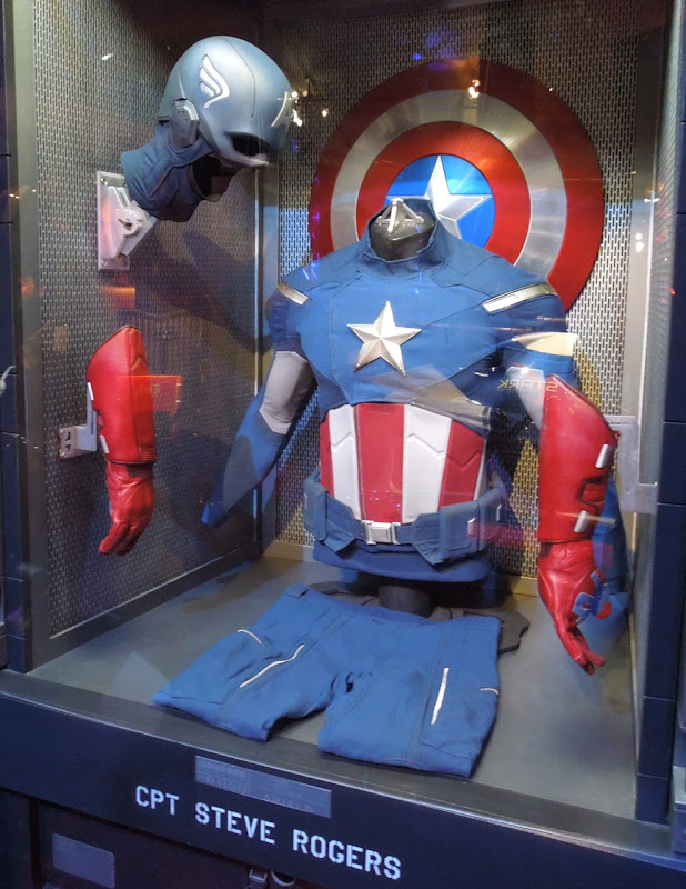Avengers Captain America movie costume
