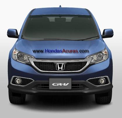 2014 Honda CR-V Accessories Front Bumper