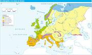 GEOGRAFÍA FÍSICA DE EUROPA. FICHAS DE REFUERZO (hidrografia europa )