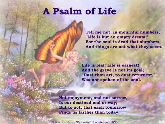 summary of the poem life
