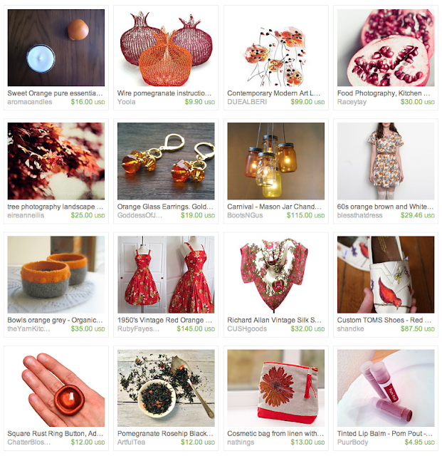 red fruity items and gifts
