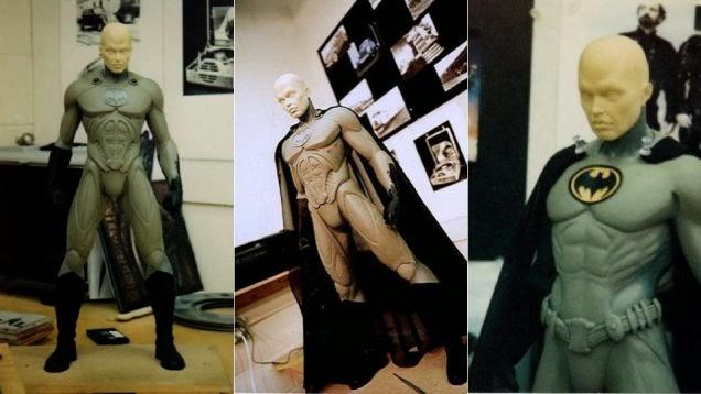 Traje desechado Batman 3 Tim Burton