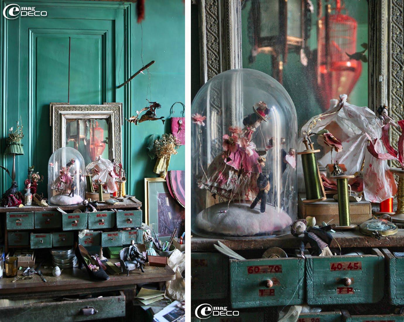 Atelier de Miss Clara, créatrice, illustratrice à Bordeaux