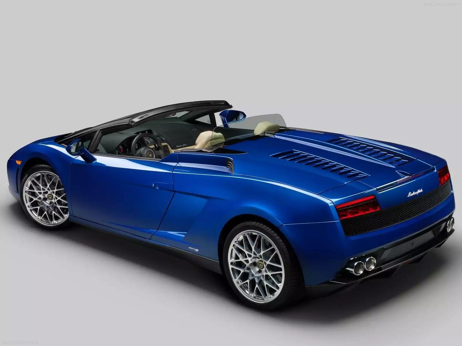 Hình ảnh siêu xe Lamborghini Gallardo LP550-2 Spyder 2012 & nội ngoại thất