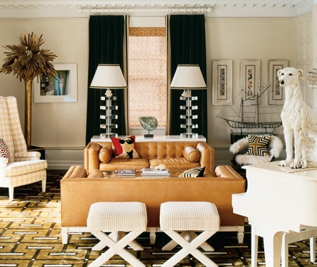 Auction Decorating: X-stools are TOO chic!