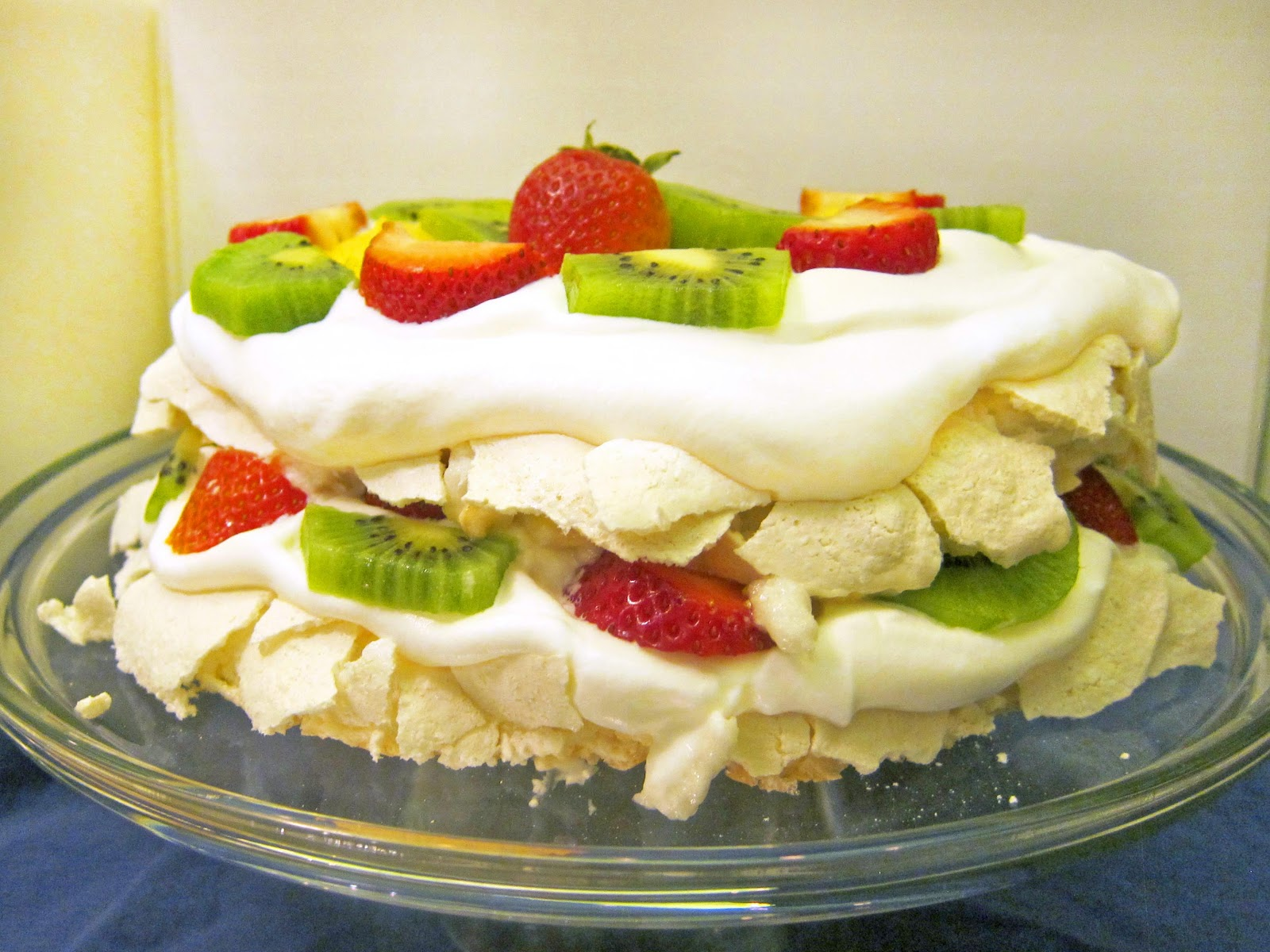 Orange-Flower Pavlovas With Strawberries Recipe — Dishmaps