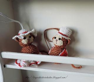 амигуруми, вязание крючком, вязаные игрушки,