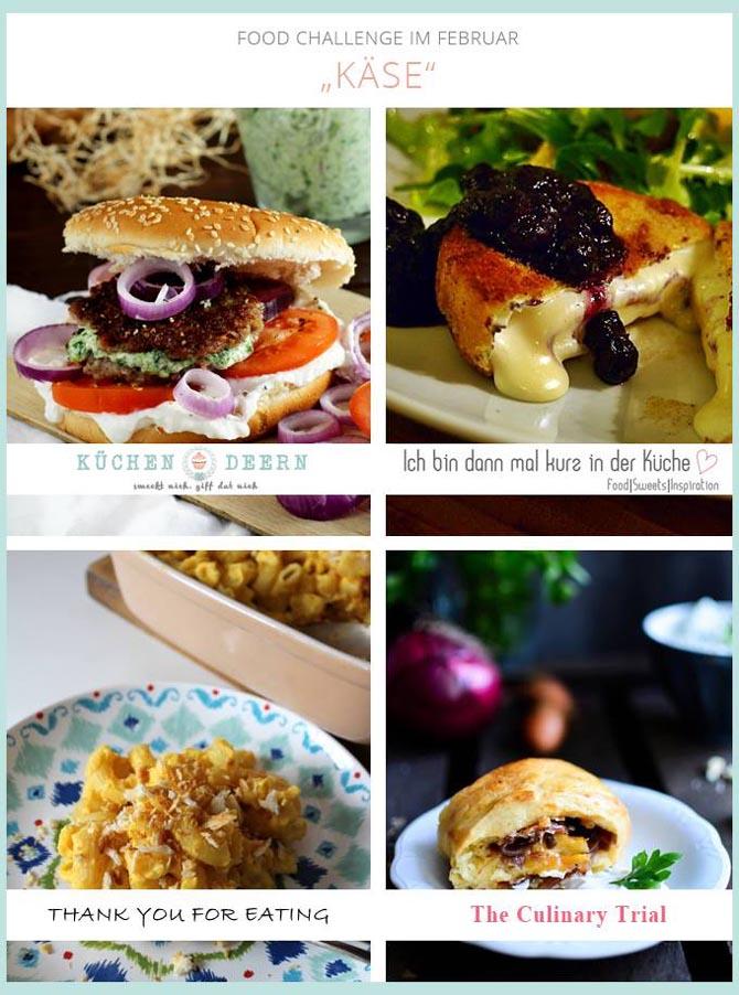 Foodchallenge Thema Käse