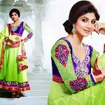 Shilpa Shetty latest photo for Salwar Kameez