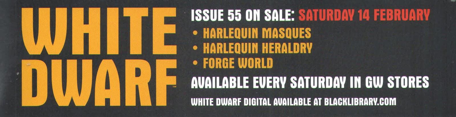 Adelanto de la White Dwarf Weekly número 55
