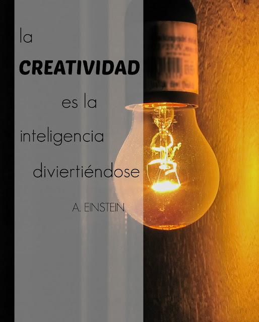 La creatividad según Albert Einstein
