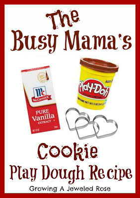 play dough recipes- quick and easy