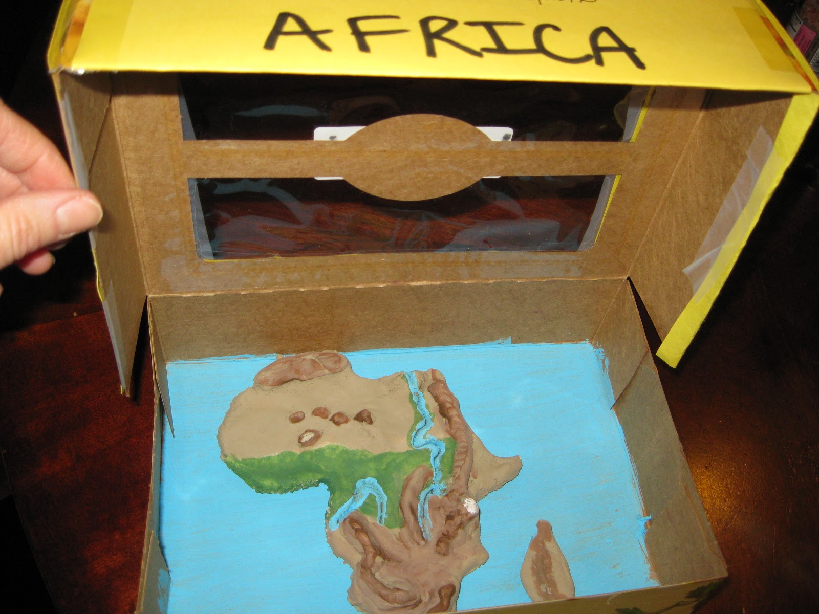 Solagratiamom: Africa - Salt Dough Model - Weeks 13-17