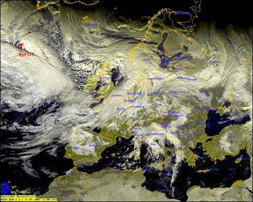 Kyrill - Tempête en France et en Europe