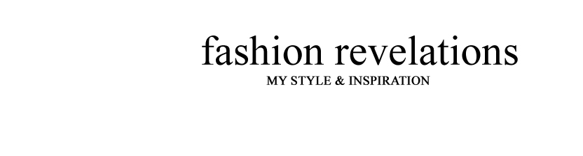 Fashion revelations