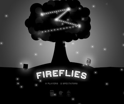 Fireflies Game Home Screen