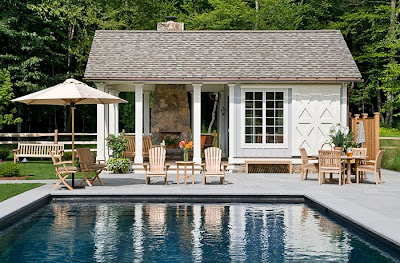 Pool House Designs on Farmhouse Plans  Pool House Plans