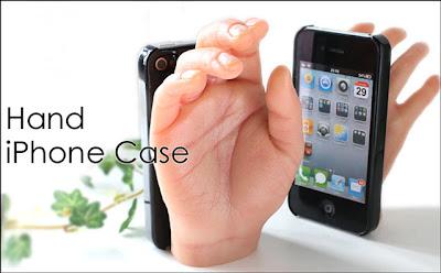 la mano para el iphone