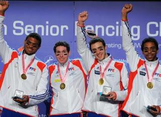 ESGRIMA-Oro para Francia en espada masculina. España décima