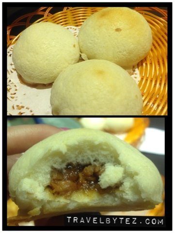 fried/baked char siew bao