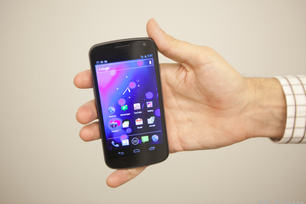 galaxy nexus hands on launch