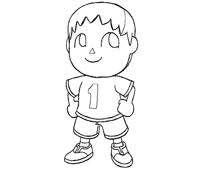 Free Coloring Pages Of Crossing Animal Crossing Coloring Pages