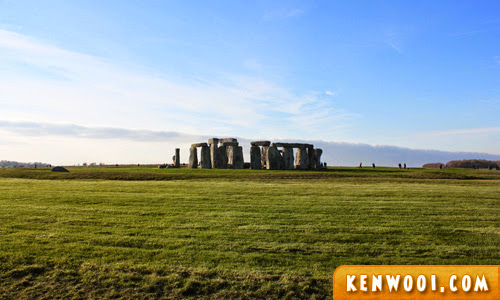 stonehenge from far