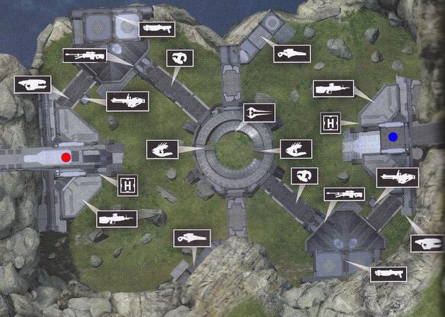 halo reach multiplayer maps