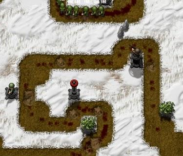Frontline Defense 2, tower defense game.