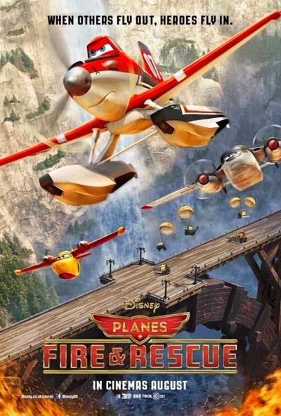 Filme Aviões 2 Heróis do Fogo ao Resgate