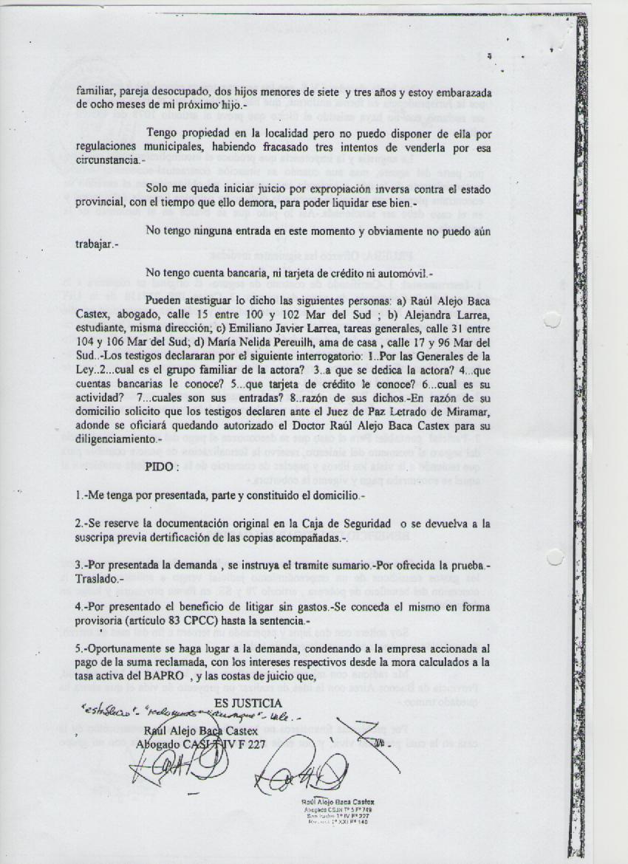Practica procesal civil y comercial i abril 2012 for Consulta demanda de empleo