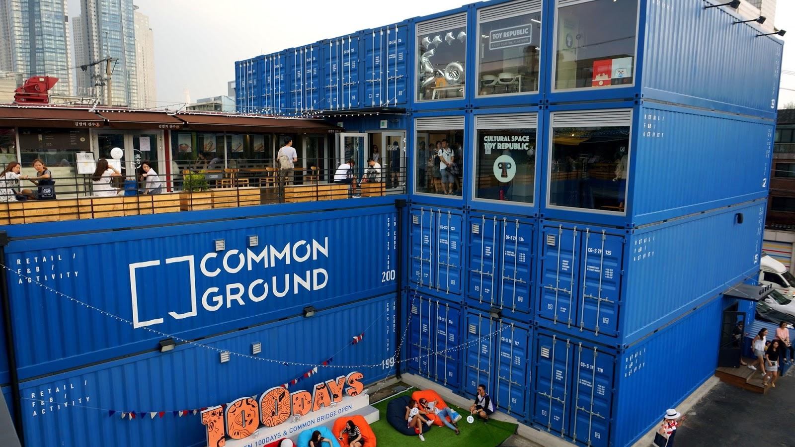 Seoul Experiences: Common Ground near Konkuk University ...