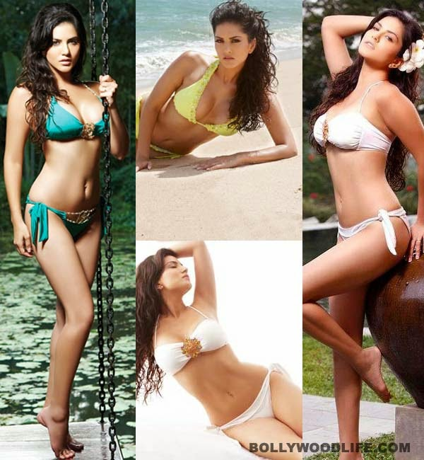 Sunny Leone hot erotic bold sensuous videos topless braless bikini pictures