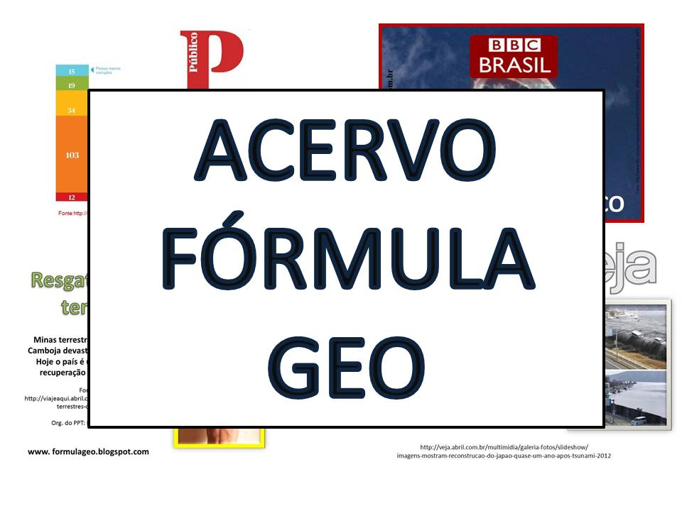 Adquira acervo de Power Point e atividades do Fórmula Geo