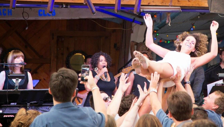 Janis Nowlan Band Seacrets Wedding Reception Beach Party