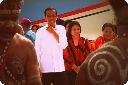 Presiden Jokowi kembali ke Jakarta setelah Empat Hari di Papua