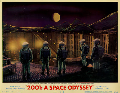 2001 odisea en el espacio poster
