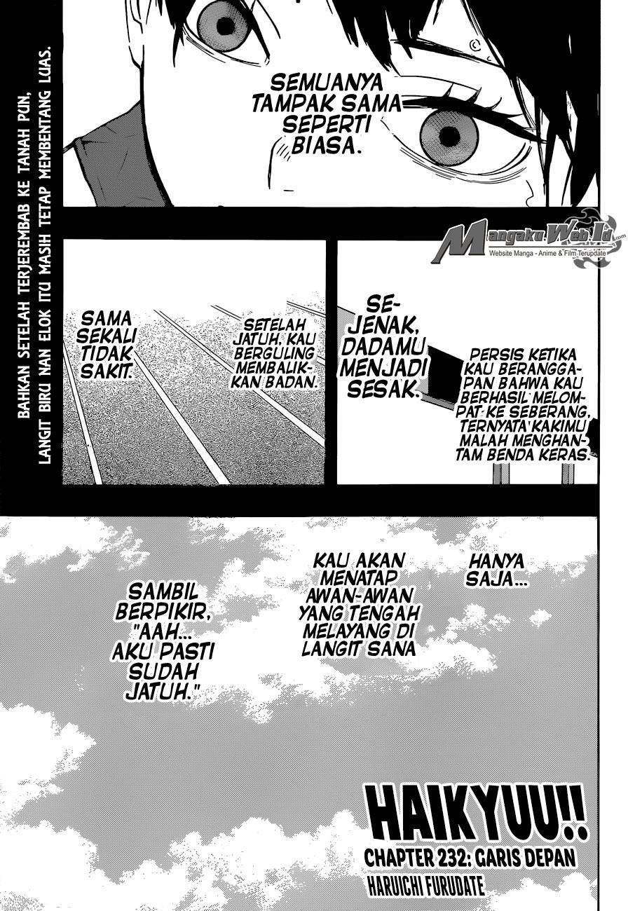 Haikyuu!! Chapter 232-1