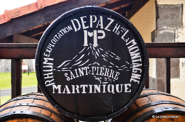 Martinique - distillerie Depaz - rhum