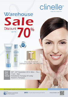 Clinelle Warehouse Sale Putrajaya 2012