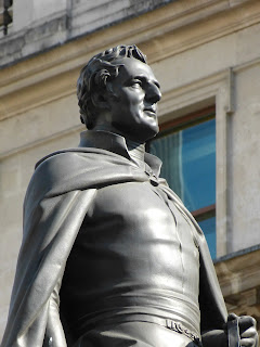 Equestrian statue of 1st Duke of Wellington, Threadneedle Street, London