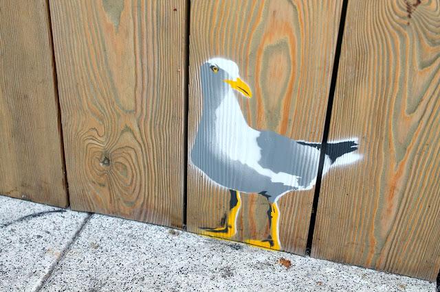 seagull graffiti