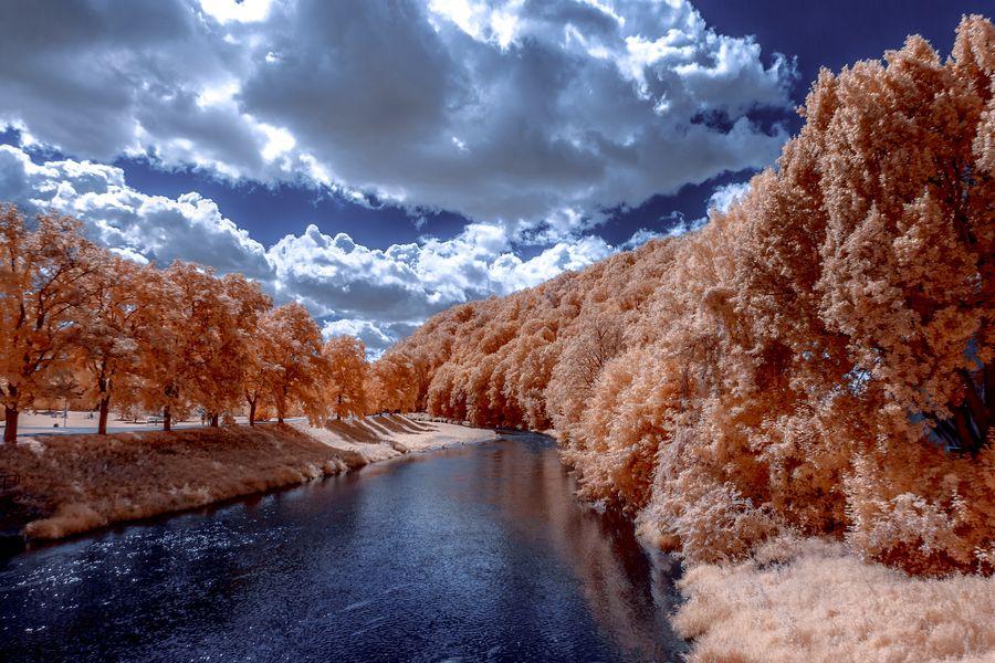 7. Peaceful river by Thorsten Scheel