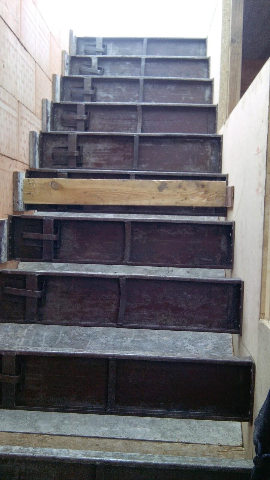 Bram jolina gaan bouwen bekisten trap en andere for Trap bouwen
