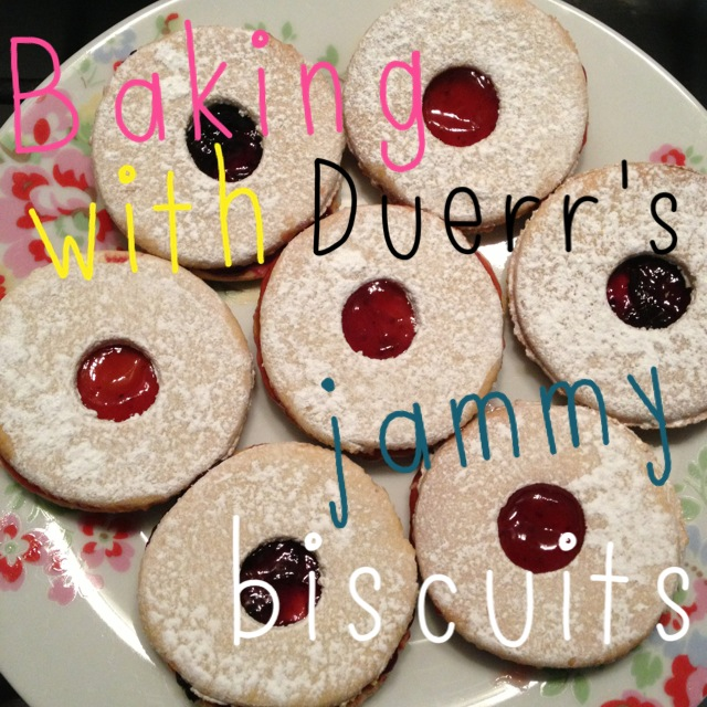 ThatRedheadSaid : Baking with Duerr's : Jammy Biscuits